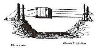 Bridge crossing ravine