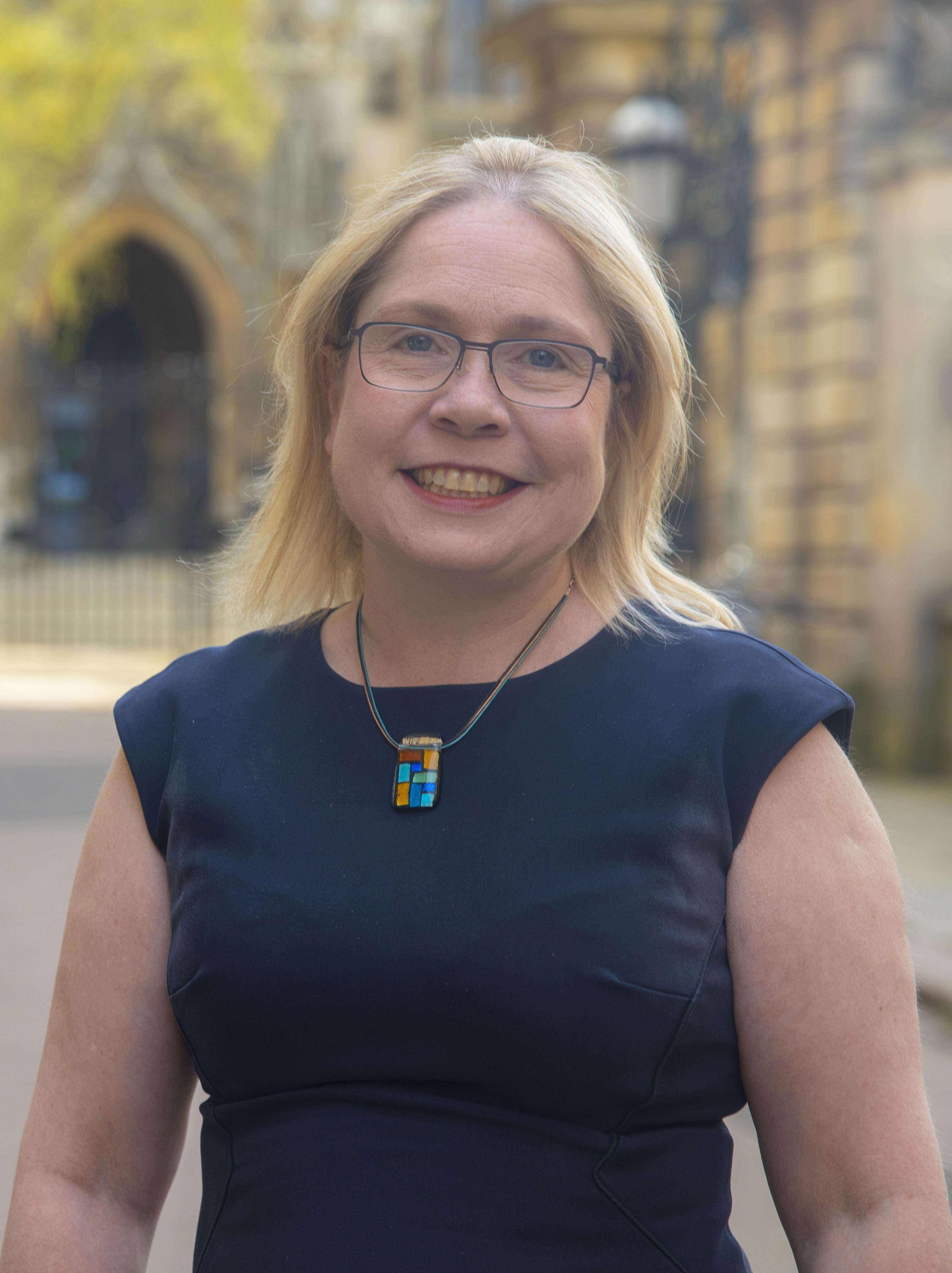 Kirsty Allen of Cambridge University Library