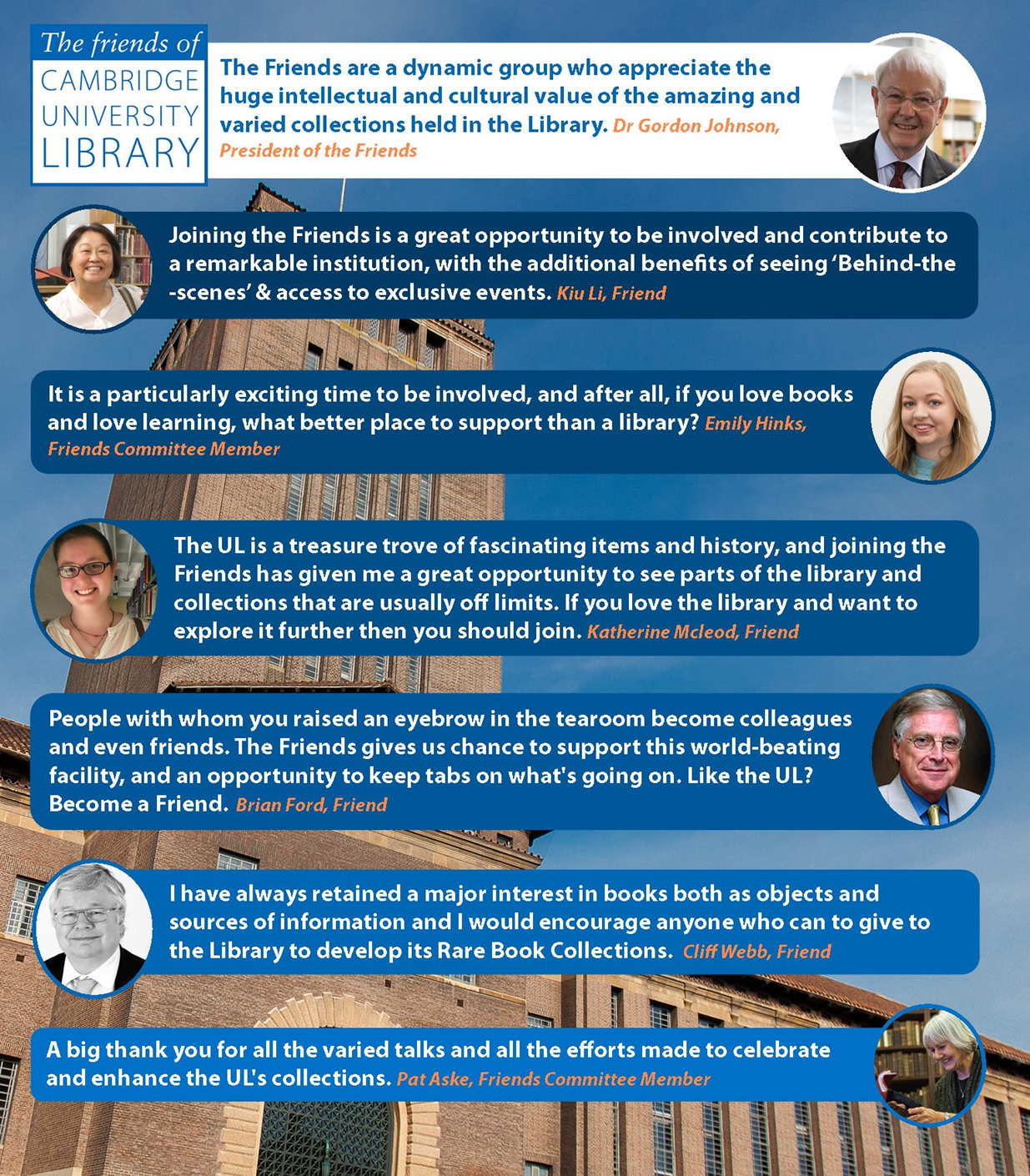 Friends of the Library | Cambridge University Library