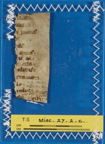 T-S Misc.27.2.c recto