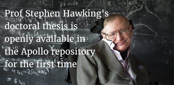 Hawking phd thesis