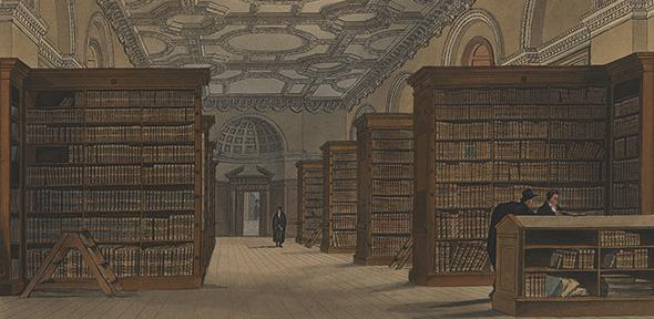 From as early as the middle of the fourteenth century, the University of Cambridge owned and kept in chests in its treasury a small collection of books.